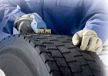 Для чего нужна нарезка протектора шин?