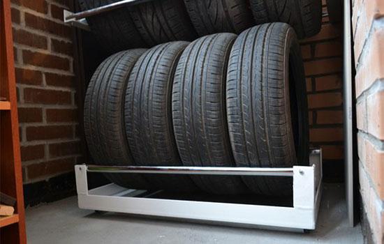 Как правильно хранить автомобильные шины без дисков?