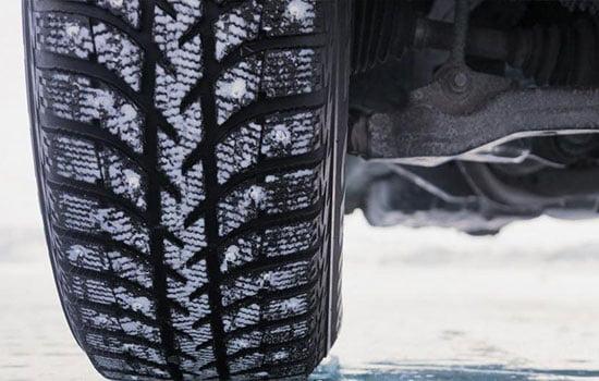 Глубина протектора зимних шин легковых автомобилей безопасная