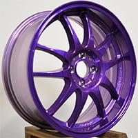 Фиолетовый литой диск