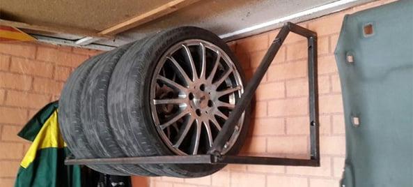 Хранение шин зимой в гараже