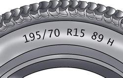 Маркировка на шинах