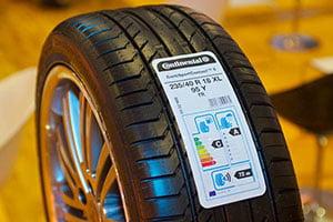 Уровень шума на маркировке шин